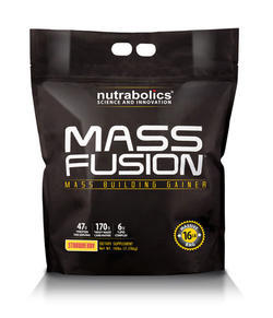 Nutrabolics Mass Fusion Strawberry 16 Lbs