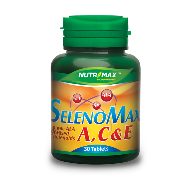Nutrimax Selenomax A,C,E With Ala 30 Tablet