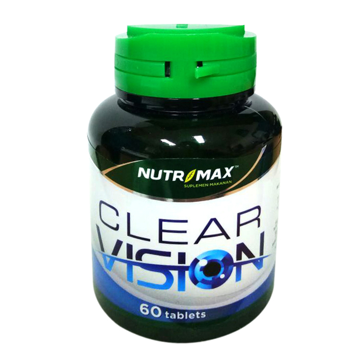 Nutrimax Clear Vision With Eyebright Herb 60 Tablet