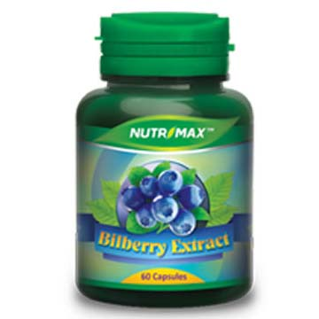 Nutrimax Bilberry Extract 60 Kapsul