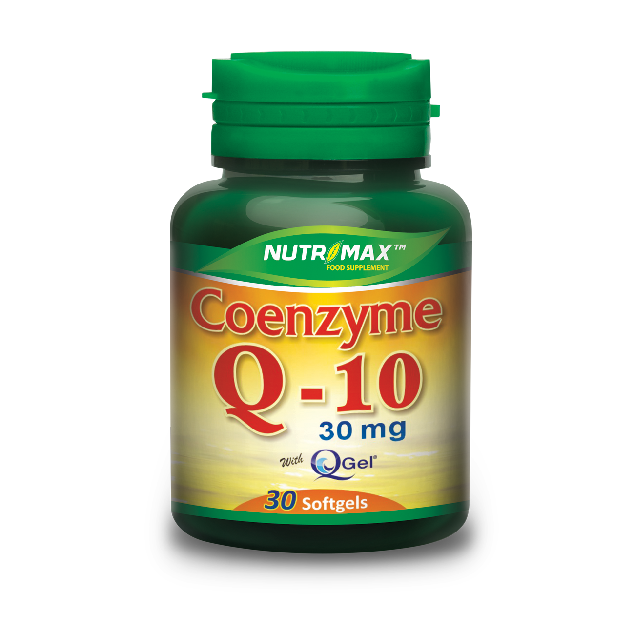 Nutrimax Coq-10 30 Mg 30 Softgels
