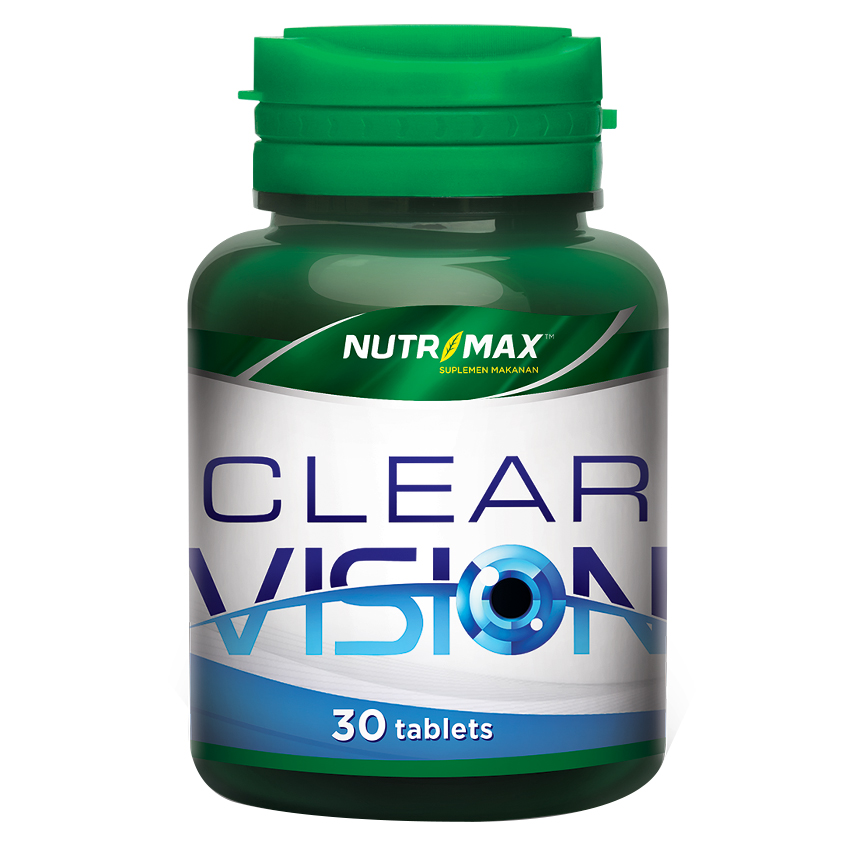 Nutrimax Clear Vision With Eyebright Herb 30 Tablet