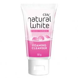 Olay Natural White Pinkish Fairness Foaming Cleanser 50g