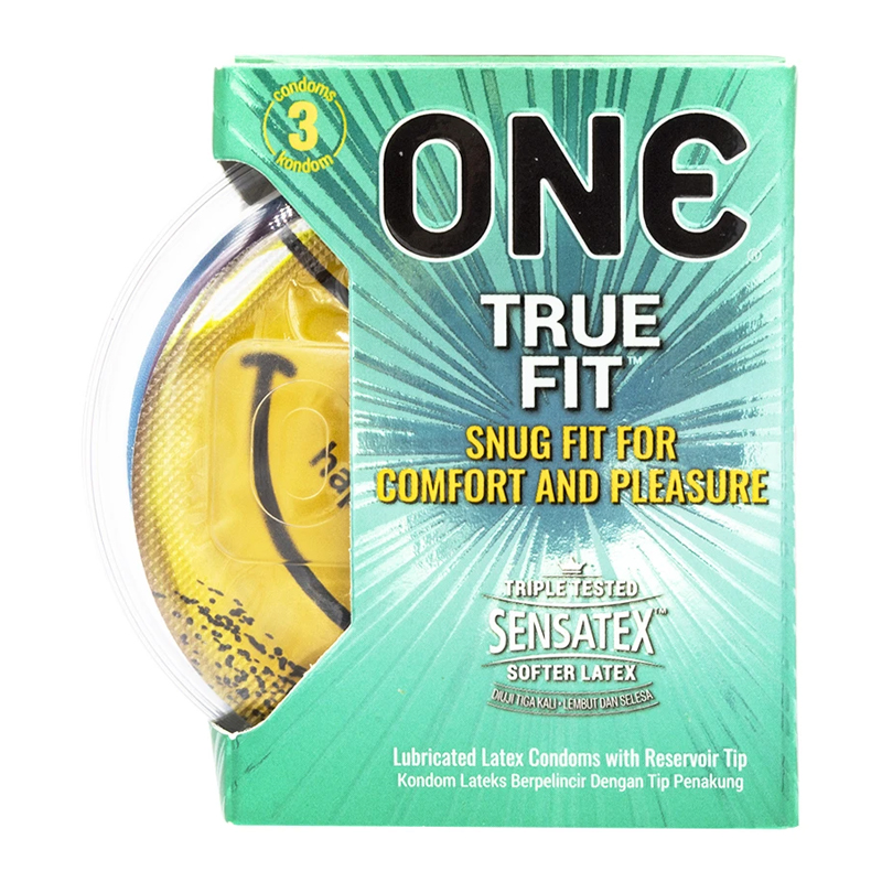 One Condom True Fit 3s | Gogobli