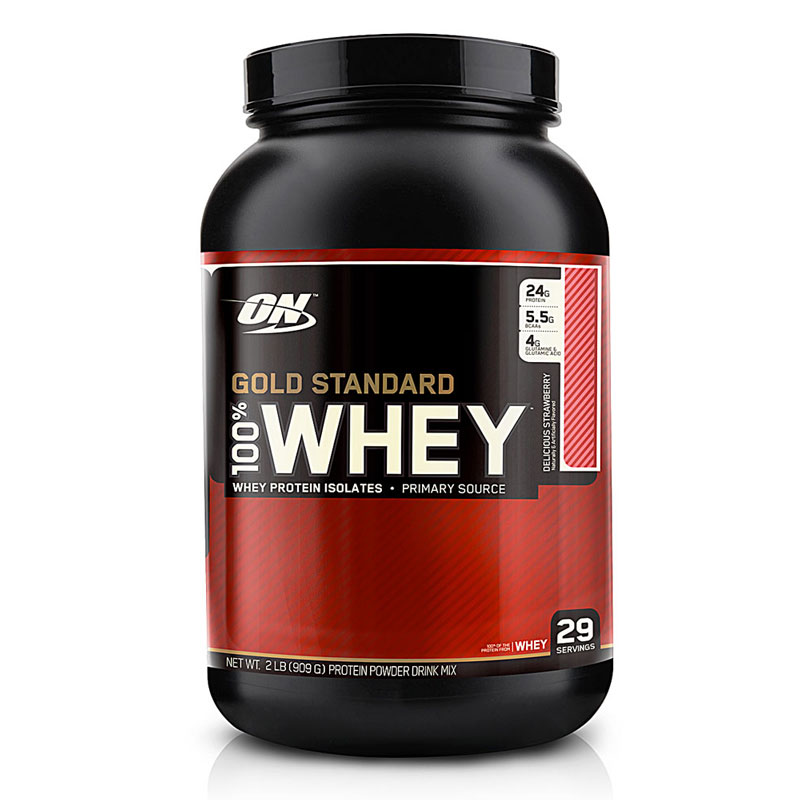 Optimum Nutrition Whey Gold Standard Strawberry 2 Lbs