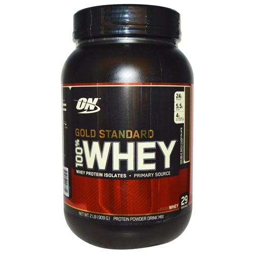 Optimum Nutrition Whey Gold Standard Chocolate 2 Lbs