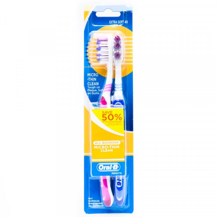 Oral B All Rounder Microthin Clean 2s | Gogobli