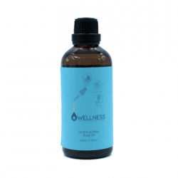 Owellness Soothe and Relax Body oil Botol 100ml