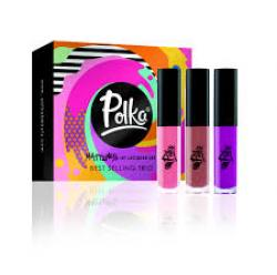 Polka Cosmetics Matteness Best Selling Trio