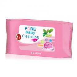 Pure Baby  Cleansing Wipes Tea Olive 60s