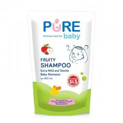 Pure Baby Shampoo Fruity Refill 450ml