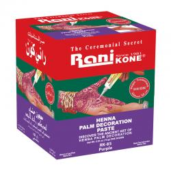 Rani Kone 85 Palm Decoration Paste Purple 72gr