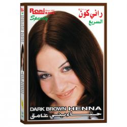 Rani Kone Speedy Dark Brown Henna Hair Color Box 4s