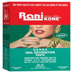 Rani Kone Henna Paste 97 Box (12pcs @ 6gr)