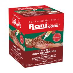 Rani Kone Henna Paste 47 Body Decoration Sudani Extra Dark Reddish 360gr