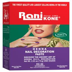 Rani Kone Henna Paste 96 Box (12pcs @ 6gr)