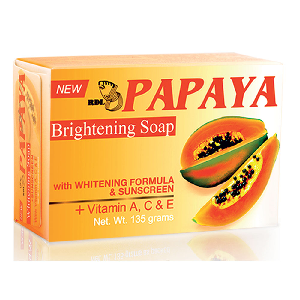 RDL Papaya Brightening Soap 135gr | Gogobli