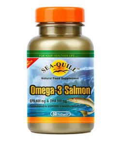 Sea-Quill Omega 3 Salmon 60 Softgels