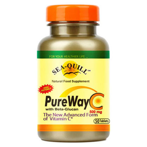 Sea-Quill Pure Way C 500 Mg 50 Tablet