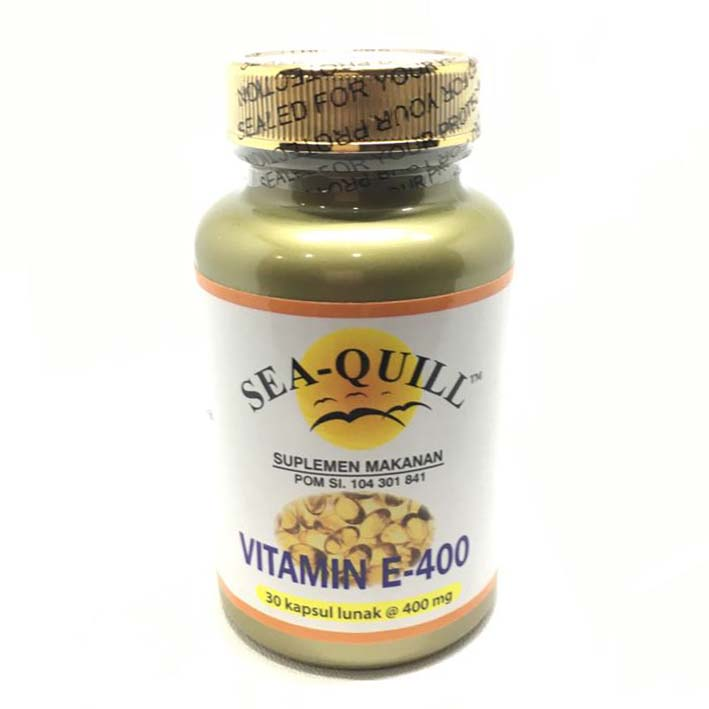 Sea-Quill Vitamin E 400 30 Softgels | Gogobli