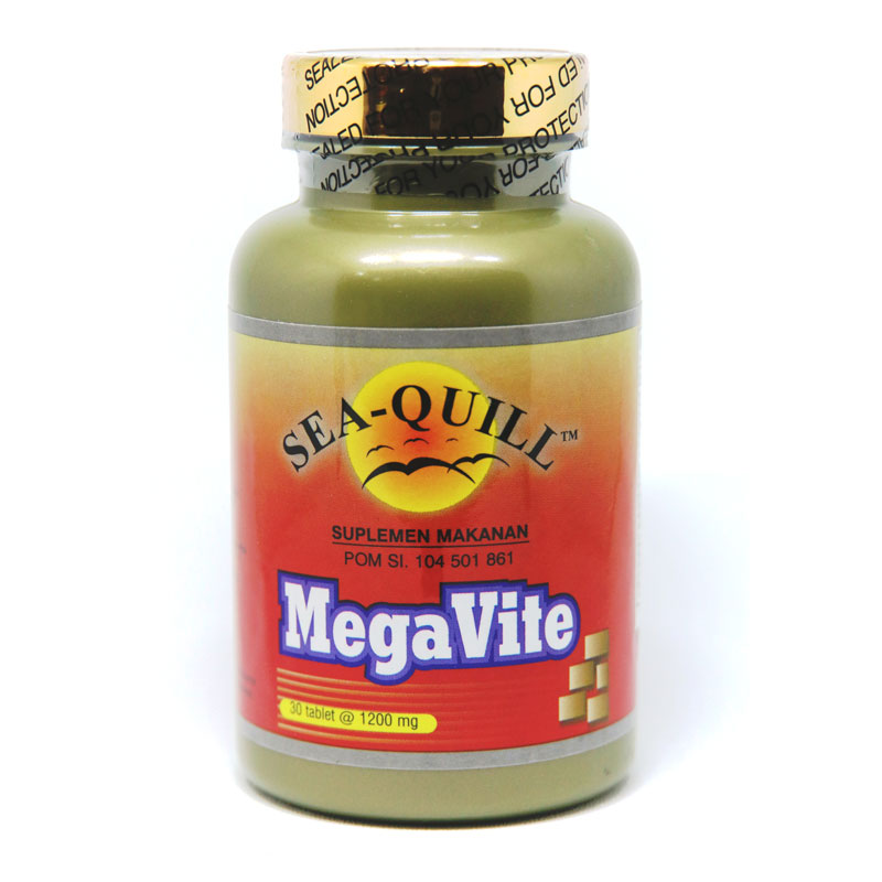 Sea-Quill Mega Vite 30 Tablet