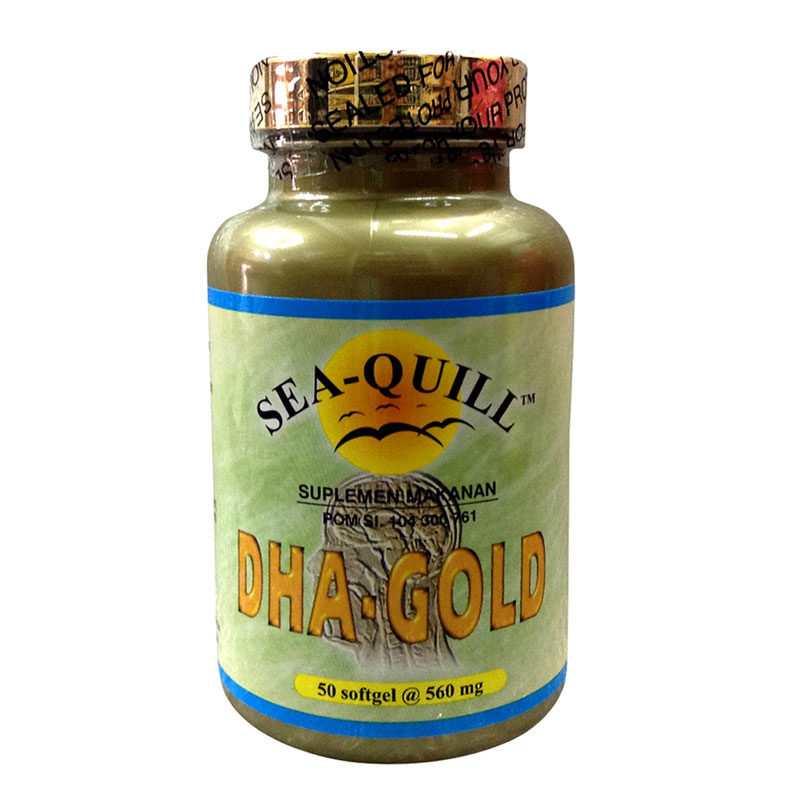 Sea-Quill Dha Gold 50 Softgels