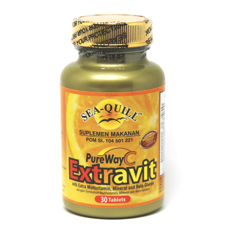 sea quill pure way c extravit 30 tablet gogobli