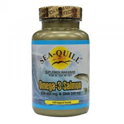 Sea-Quill Omega 3 Salmon 100 softgels