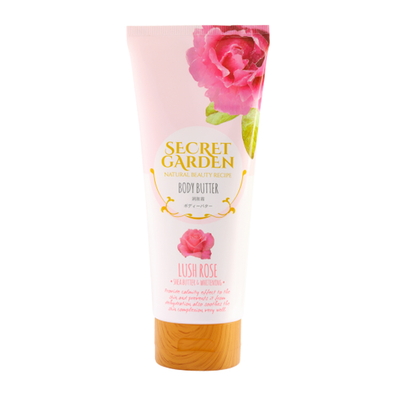 Secret Garden Body Butter Lush Rose 200gr | Gogobli