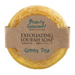 Secret Garden Exfoliating Loofah Soap Green Tea 100gr