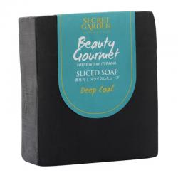 Secret Garden Beauty Gourmet Sliced Soap Deep Coal 120gr