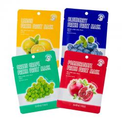 Shinetree Fresh Fruit Mask Sheet Bundle