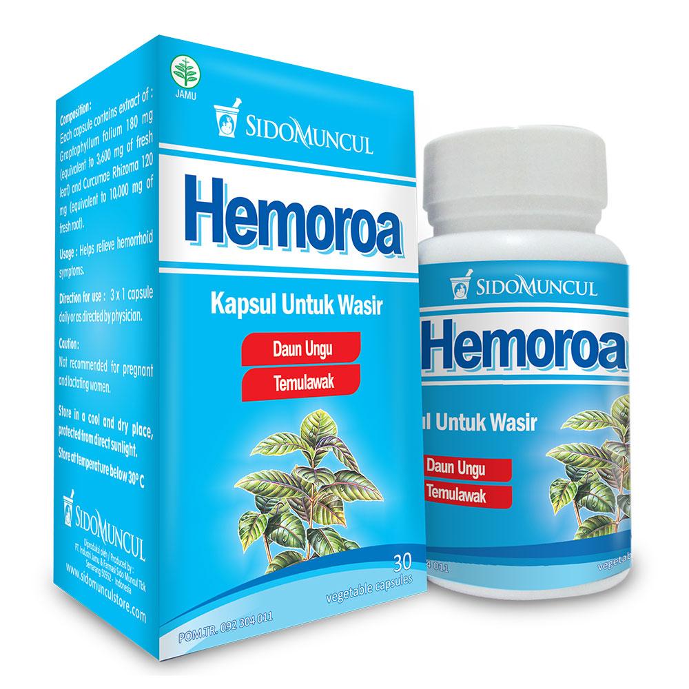 Sidomuncul Hemoroa 30 Kapsul Promo Gogobli