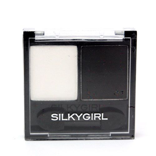 Silkygirl Double Intense Duo Eye Shadow 04 Yin &Amp; Yang