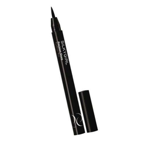 Silkygirl Precision Sharp Eyeliner Pen 01 Blackest Black