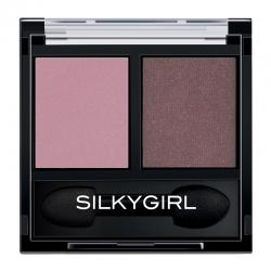 Silkygirl Double Intense Duo Eye Shadow 08 Flushed Maple