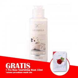 SK7 Milk Shower Cream 100ml (GRATIS 1pc SK7 Rose Nourishing Mask 22ml)