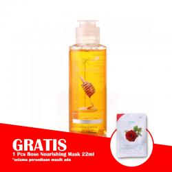 SK7 Honey Shower Gel 100ml (GRATIS 1pc SK7 Rose Nourishing Mask 22ml)