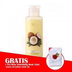 SK7 Coconut Shower Cream 100ml (GRATIS 1pc SK7 Rose Nourishing Mask 22ml)