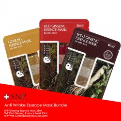 SNP Anti Wrinkle Essence Mask Bundle