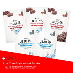 SNP Pore Care Essence Mask Bundle