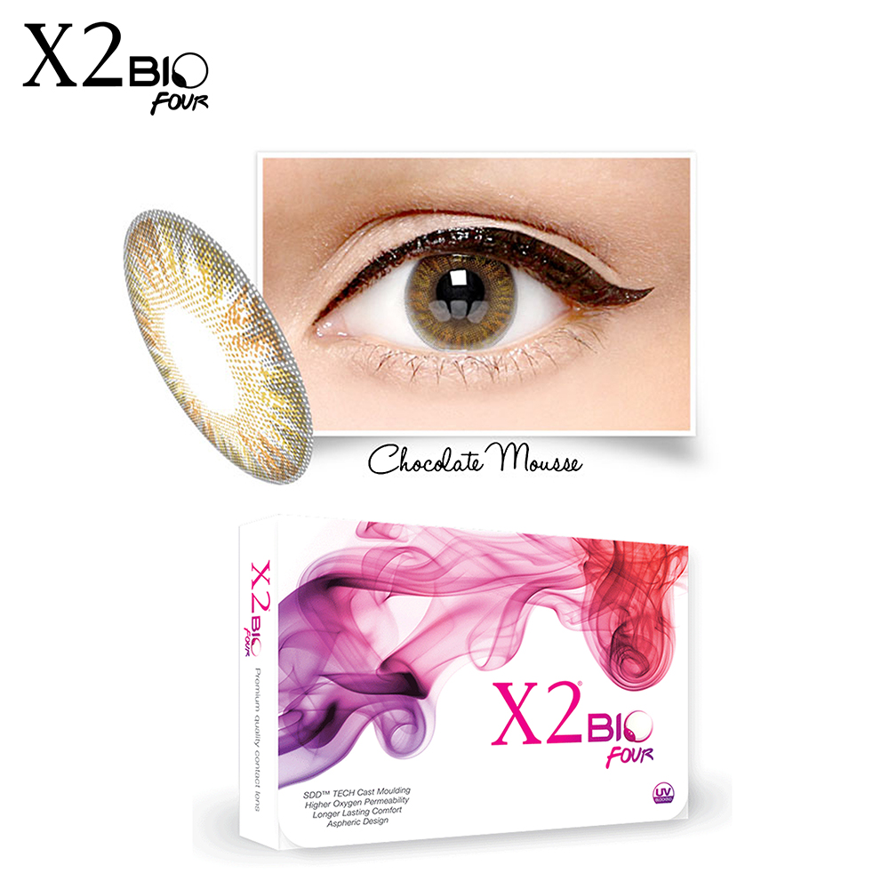 Softlens X2 Bio Four Chocolate Mouse | Gogobli