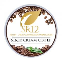 SR12 Scrub Cream Coffee 125gr