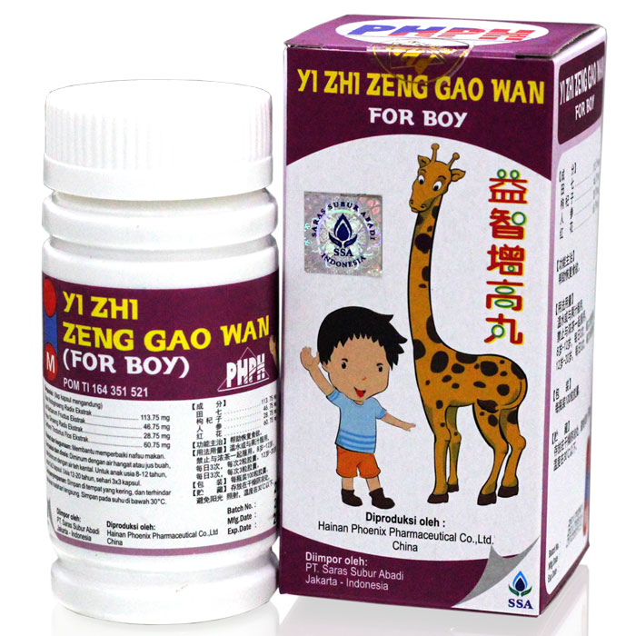 Yi Zhi Zeng Gao Wan For Boy 100s (Grow Up Pills) | Gogobli
