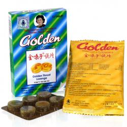 Golden Throat Lozenges 12s