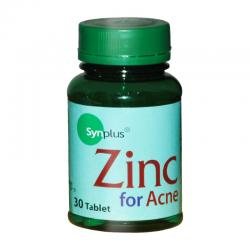 Synplus Zinc For Acne 30tbl