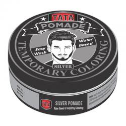 Tata Styling Pomade Temporary Coloring Silver 75gr