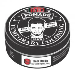 Tata Styling Pomade Temporary Coloring Black 75gr