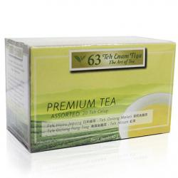 Teh 63 Assorted Premium (20 Teabags)
