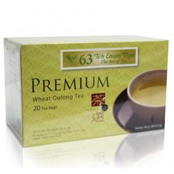 Teh 63 Premium Wheat Oolong Tea (20 Teabags)